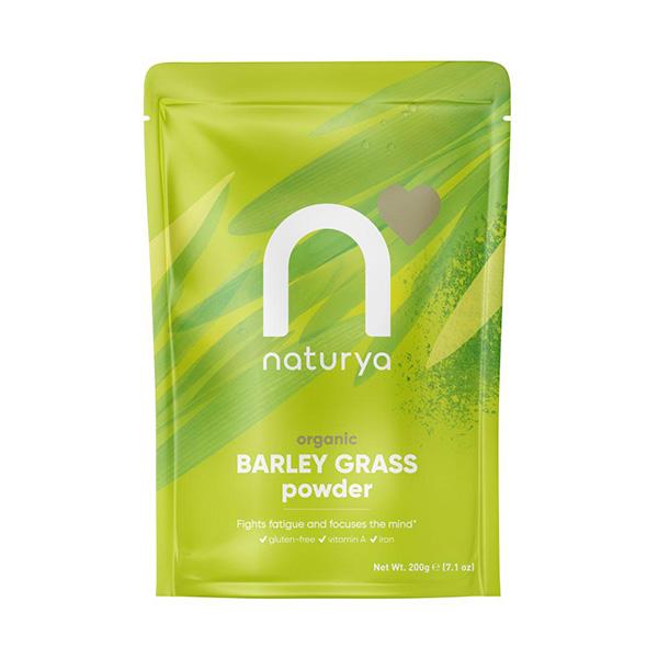 Organic Barley Grass Powder 200g - Naturya