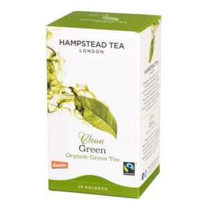 Organic Green Tea Bags - The Giving Nature
