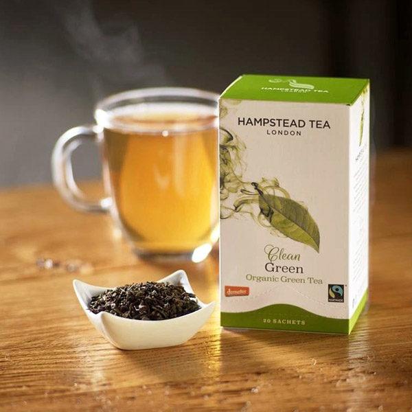 Organic Green Tea - The Giving Nature