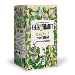 Organic Peppermint Tea Bags - The Giving Nature