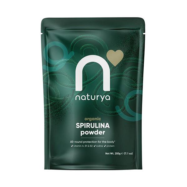 Organic Spirulina Powder 200g - Naturya