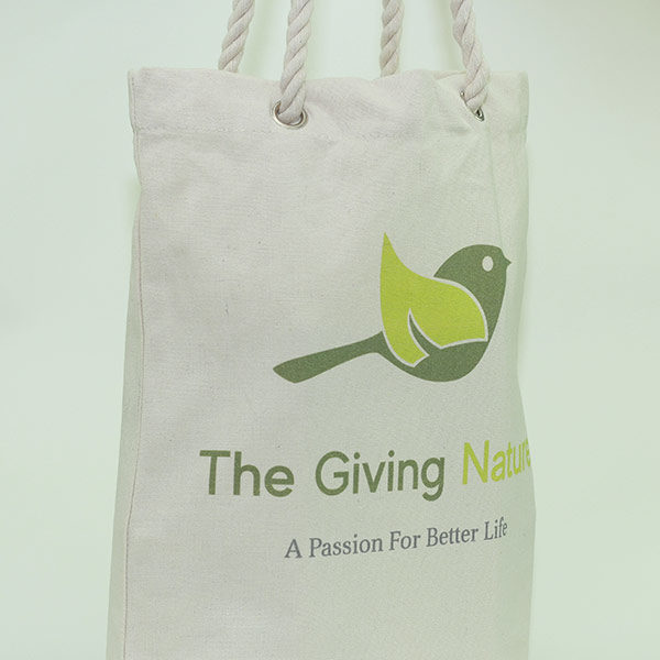 Cotton Shopping Bag - The Giving Nature