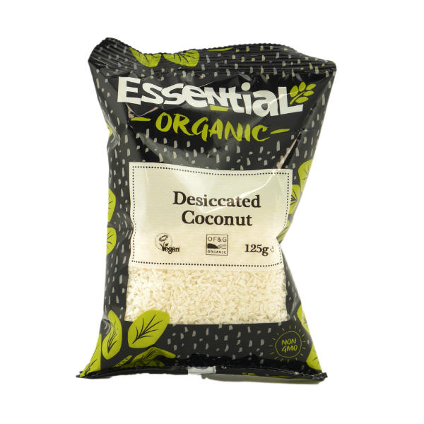 Organic Desiccated Coconut - 125g