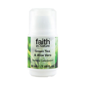Green Tea and Aloe Vera Roll-on Deodorant - The Giving Nature