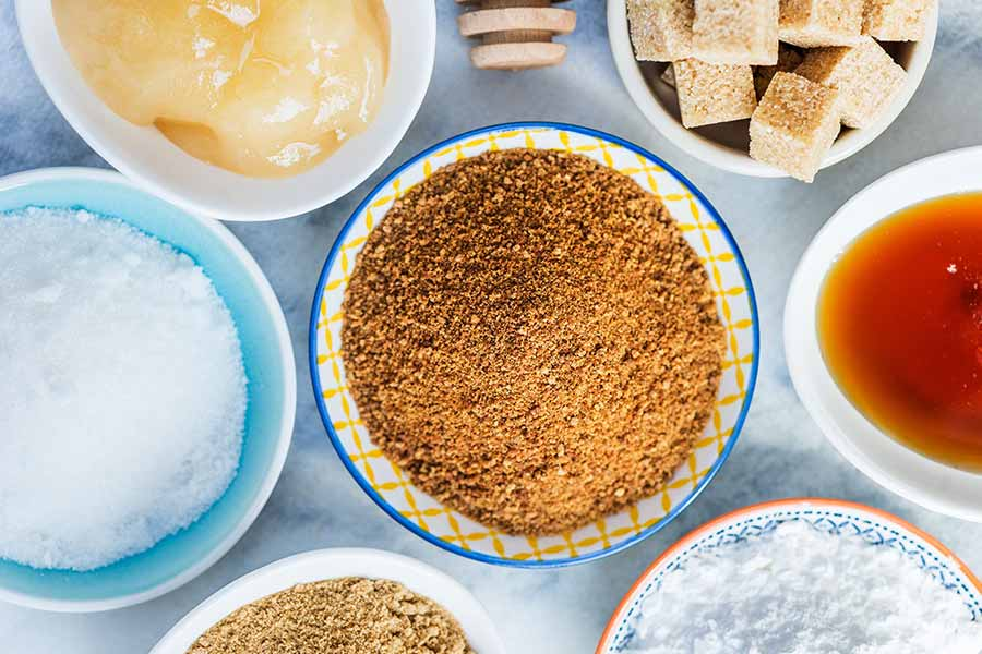 Coconut sugar vs white sugar - The Giving Nature