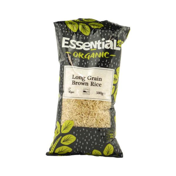 Organic Long Grain Brown Rice - 500g