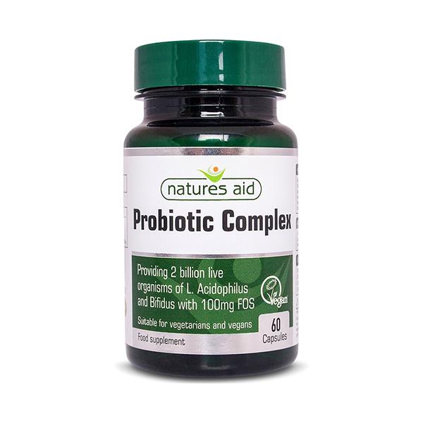 Probiotic Complex 60 Capsules - Natures Aid