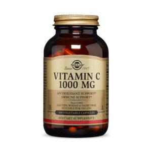 Solgar Vitamin C 1000 mg Vegetable Capsules
