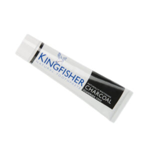 Charcoal Naturally Whitening Toothpaste - Kingfisher