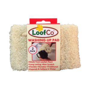 Loofah Washing Up Pad - 2 Pack