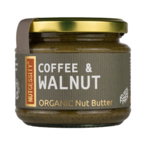 Organic Coffee and Walnut Butter - Nutcessity