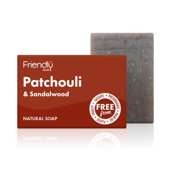 Patchouli and Sandalwood Soap - Friendly Soap