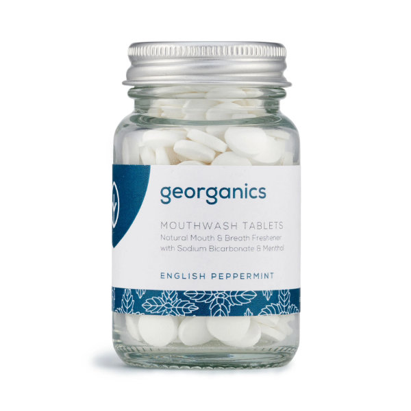 Mouthwash Tablets - English Peppermint - Georganics