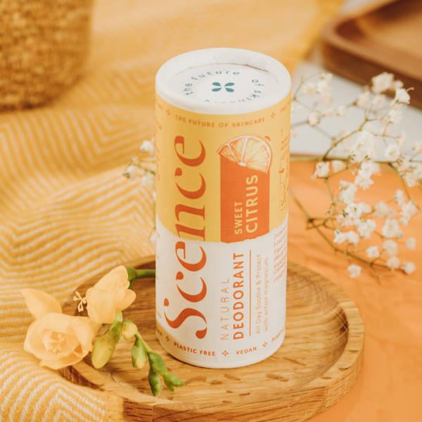 Natural Deodorant Balm - Sweet Citrus - Scence Natural Skincare