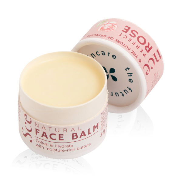 Natural Face Balm - Rose - Scence