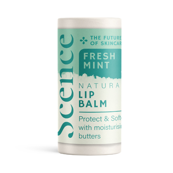 Natural Lip Balm - Mint - Scence Natural Skincare