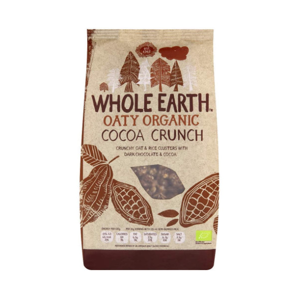 Organic Cocoa Crunch - 375g - Whole Earth Foods