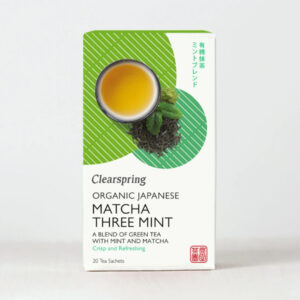 Organic Japanese Matcha Three Mint - Clearspring