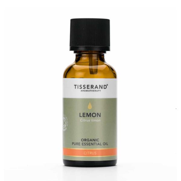 Organic Lemon Essential Oil - Tisserand Aromatherapy