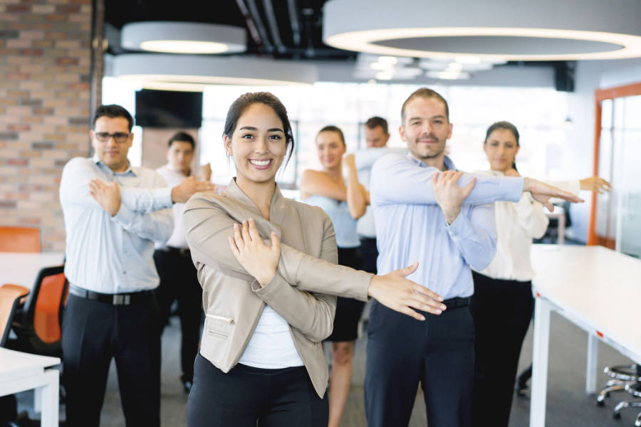 Pillars of Workplace Wellbeing - The Giving Nature