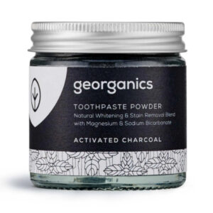 Toothpaste Powder - Activated Charcoal - Georganics