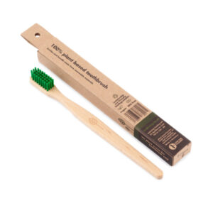 Wooden Toothbrush with Natural Bristles - Ecoliving