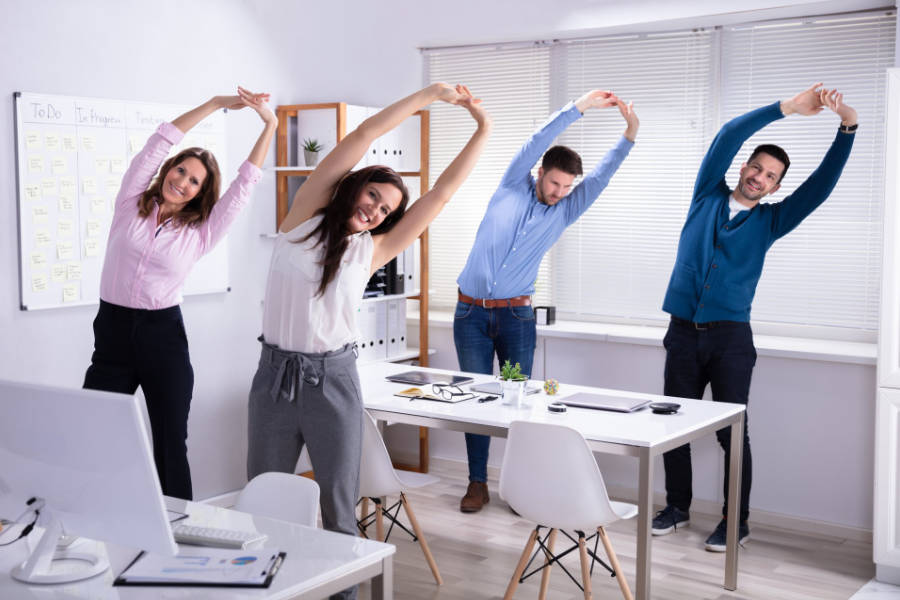 Workplace Wellbeing - The Giving Nature