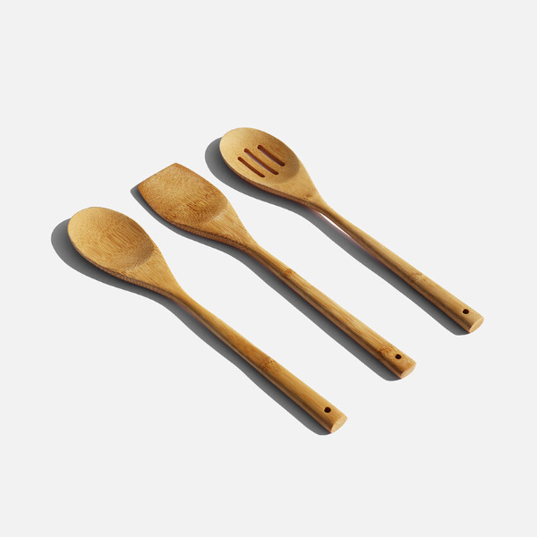 Bamboo Cooking Utensils - Zero Waste Club