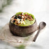 Coconut Bowl with Wooden Spoon - Jungle Culture