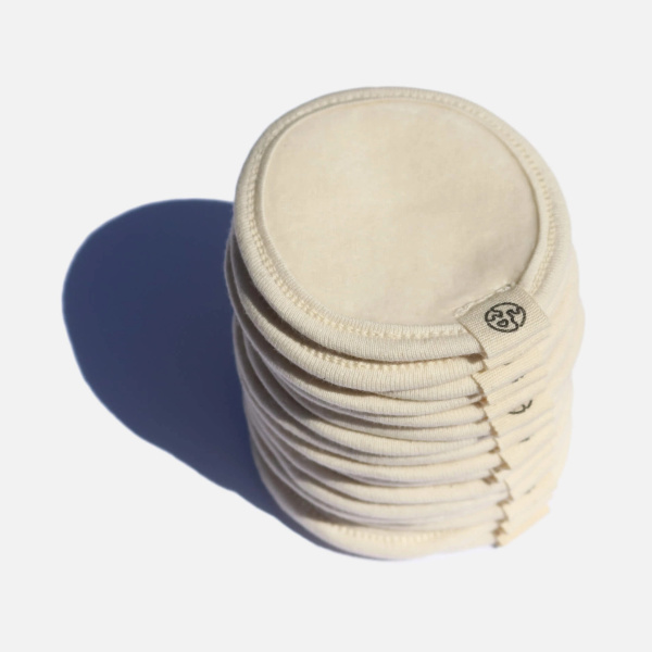Cotton Makeup Remover Pads with Wash Bag - Zero Waste Club