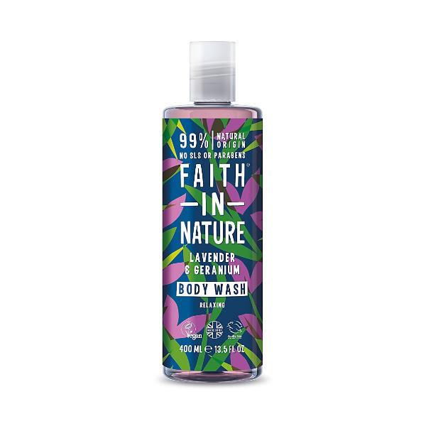 Lavender and Geranium Body Wash - Faith In Nature