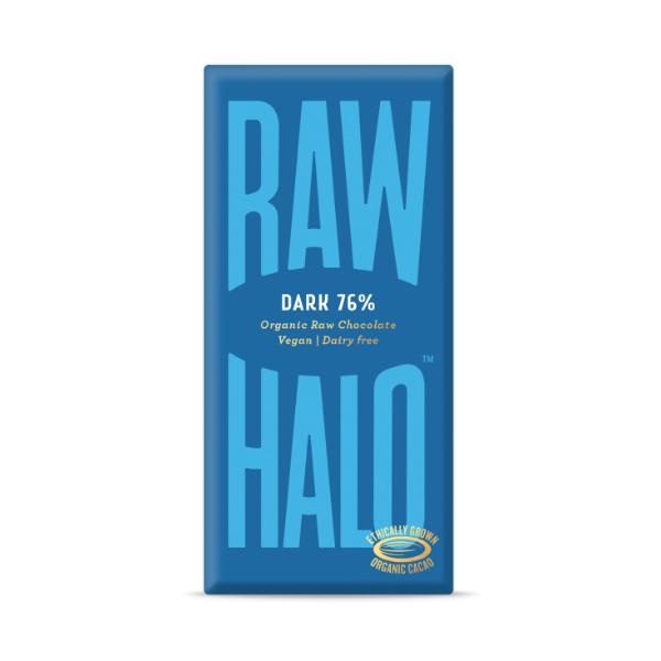 Organic Dark Raw Chocolate - Raw Halo