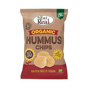 Organic Hummus Chips - Eat Real