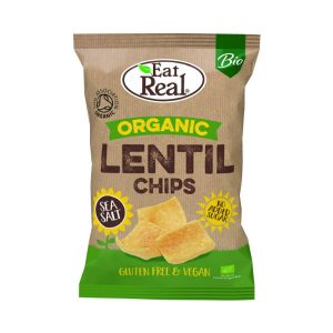 Organic Lentil Chips - Eat Real
