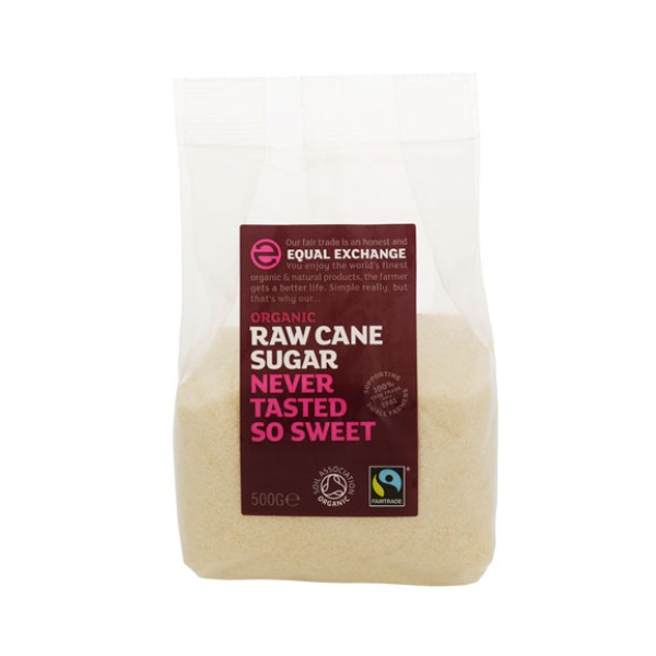 Organic Raw Cane Sugar - Equal Exchange Fairtrade