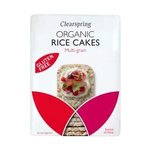 Organic Rice Cakes - Multigrain - Clearspring