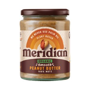 Organic Smooth Peanut Butter - Meridian