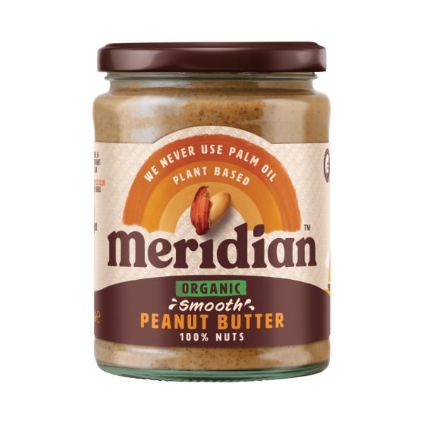 Organic Smooth Peanut Butter - Meridian