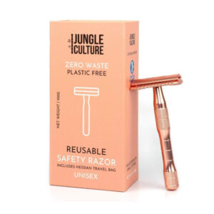 Stainless Steel Safety Razor - Jungle Culture