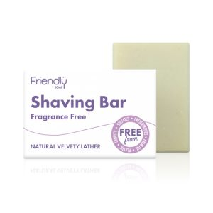 Shaving Soap Bar - Fragrance Free - Friendly Soap