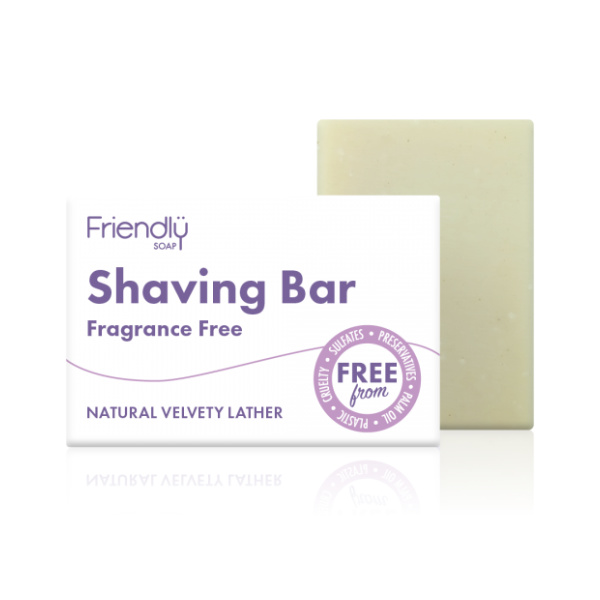 Shaving Soap Bar - Fragrance Free - Friendly Soap