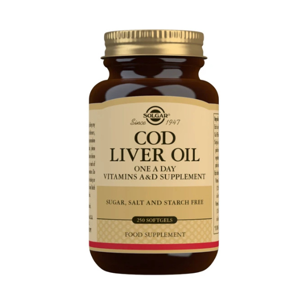 Solgar Cod Liver Oil Softgels