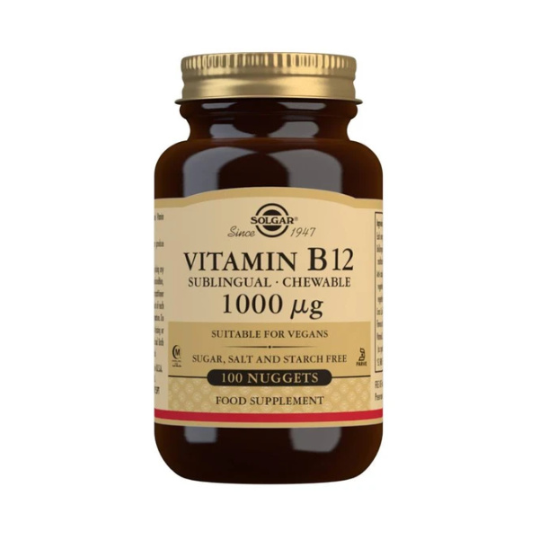 Solgar Vitamin B12 1000 mcg Nuggets
