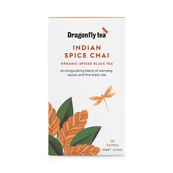 Indian Spice Chai - Organic Black Tea - Dragonfly Tea