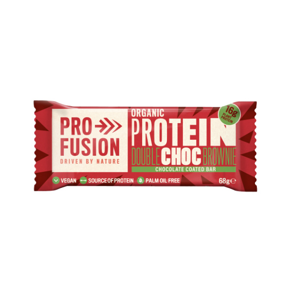 Organic Double Choc Brownie Protein Bar - Profusion