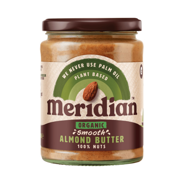 Organic Smooth Almond Butter - Meridian