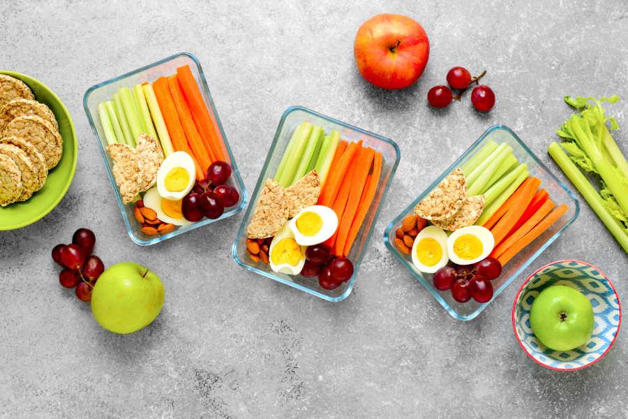 Chickpeas, Chia Seeds and Oatmeal snacks