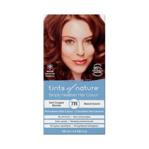 7R Soft Copper Blonde Permanent Hair Dye
