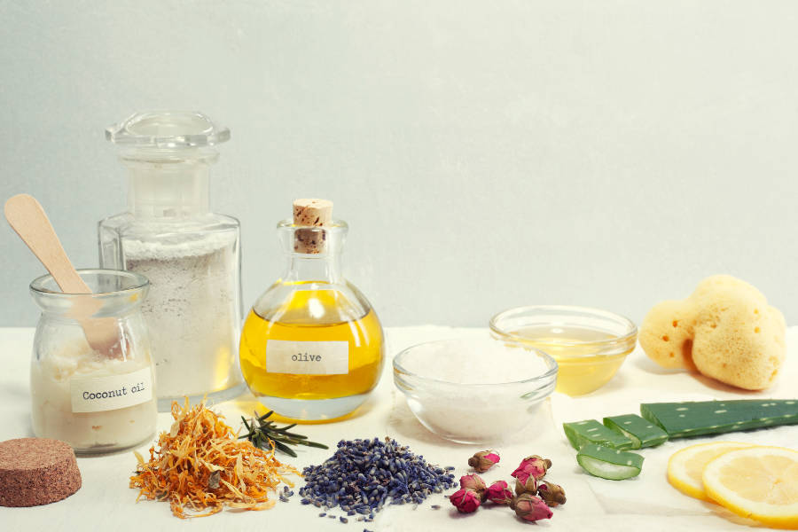 List of Commonly Used Natural Beauty Ingredients