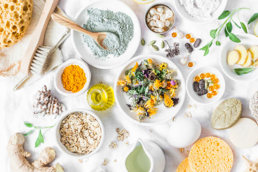 List of Natural Beauty Ingredients You'll Find In Your Kitchen